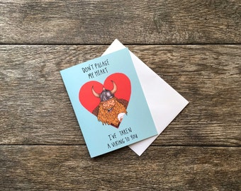 Funny Love Card - Viking Valentine's Day Greeting Card *UPDATED*