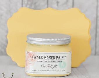 Vintage Storehouse Chalk Based Paint - Candlelight