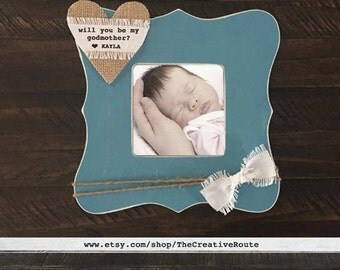 will you be my godmother gift frame will you be my godparent frame will you be my godfather frame godparent gift frame