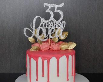 Birthday Etsy Jpg 340x270 35th Cake Topper