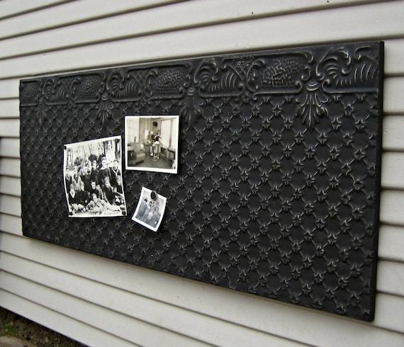 Tin Ceiling Tile Large Magnet Board Antique Architectural