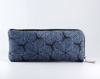 Embroidered Pencil case, Embroidered Pencil Pouch