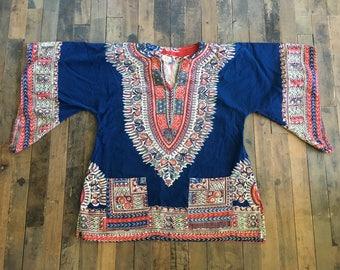 Vintage Bohemian Tunic/Blouse