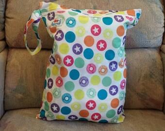 "Single-Pocket Wet Bag, Waterproof, 12""x16"", Travel Shoes Bag, Laundry Bag, Sport Wet Bag, Baby Diaper Bag"