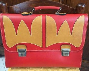 80 years leather folders