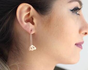 Cloud Earrings / Star Earrings