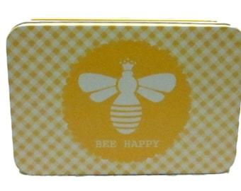 Lori Holt, Bee in My Bonnet, Craft Tin, Storage Tin, Sewing Storage, Knitting Notions