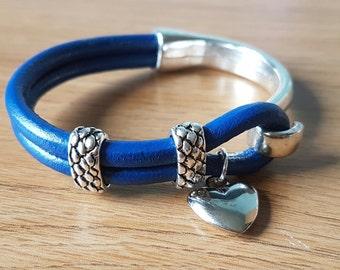 Half Cuff Bracelet in Blue