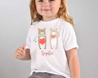 Adorable Teddy bear Tshirt Personalize ~ Customize