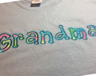 Personalized Tshirt, Mothers Day, Nana Tshirt, Gifts for Nana, Grandma, Long Sleeve Personalized Shirt, Valentine's Day Gift