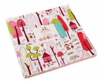 SALE!! Layer Cake Just Another Walk Into the Woods by Stacy Iset Hsu for Moda- 42 Fabrics