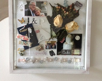 Handcrated Memory Shadow Boxes
