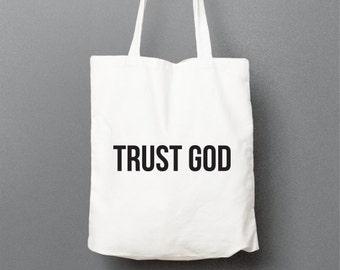 Shopping bag TRUST GOD