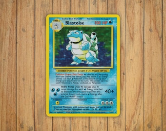 Blastoise Trading Card Game [Original] Pokemon Decal/Sticker