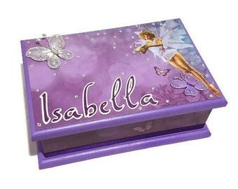 A Little Fairy Keepsake Box