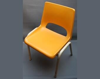 plastique orange etsy. Black Bedroom Furniture Sets. Home Design Ideas