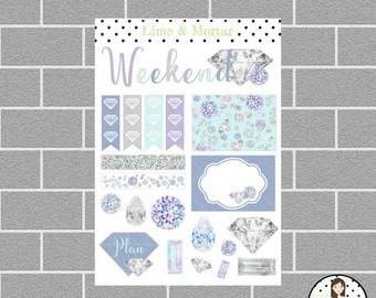 Shine Bright Decorative Planner Stickers