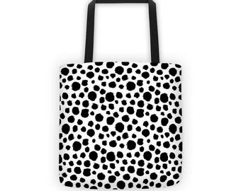 Graphic Tote Bag - Tote Bag - Dots Tote Bag