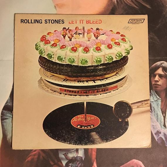 Rolling Stones Let It Bleed 1969 Vintage Vinyl