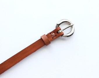 Girls Leather Belt