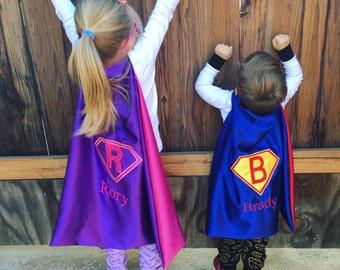 SUPERHERO CAPE-Super Hero Cape-Personalized Cape-Boy Cape-Photo Prop-Birthday Gift-Kid Cape-Cape-Kids Gift-Superhero Costume-Christmas gifts