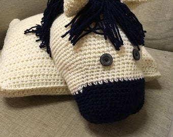 Horse cushion / pillow cover