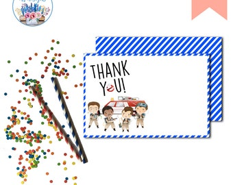 Ghostbusters Thank You Note, Ghostbusters, Ghostbusters Boys Birthday Party