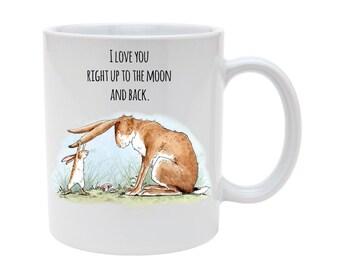 I love you rabbit mug