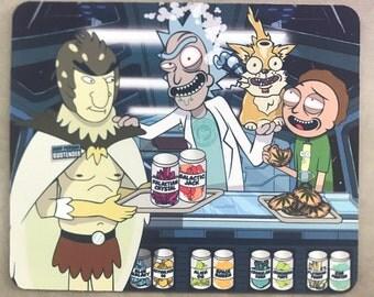 "Roilty ""Rick and Morty"" #2 Dab Pad"