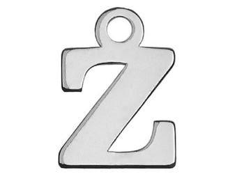Charm Letter Z Sterling Silver 925