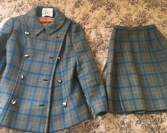 Vintage 60's Skirt Suit