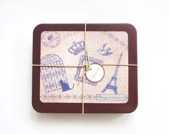 Kodomo No Kao margaret stamp set (0831-007)