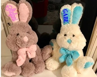 GORGEOUS  Plush Bunnies. Personalized for Free..