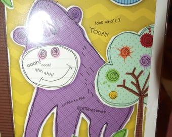 3 Today Birthday Card