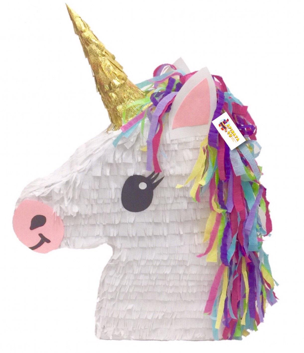 unicorn emoticon pinata. Black Bedroom Furniture Sets. Home Design Ideas