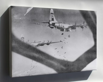Canvas 24x36; 39Th Bomb Group B-29 Superfortress Bomber, Hiratsuka, Japan