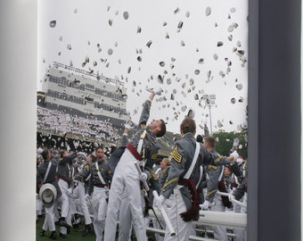 Canvas 24x36; West Point Graduation United States Military Academy At West Point Graduation
