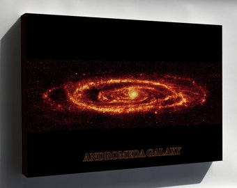 Canvas 16x24; Andromeda Galaxy Taken By Spitzer P3