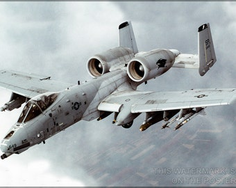 16x24 Poster; A-10 Thunderbolt Ii Warthog