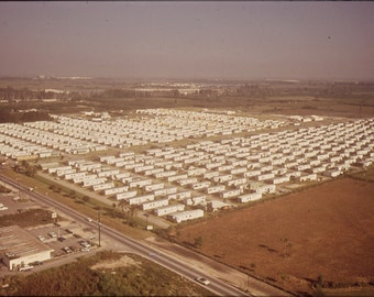 16x24 Poster; Huge Trailer Park Encroaches Upon The Boundaries Of The Everglades National Park Nara 544629
