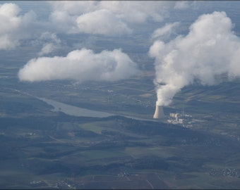 16x24 Poster; Isar Kernkraftwerk Nuclear Power Plant 2