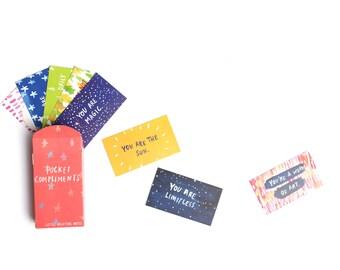 Pocket Compliments - Little Uplifting Notes