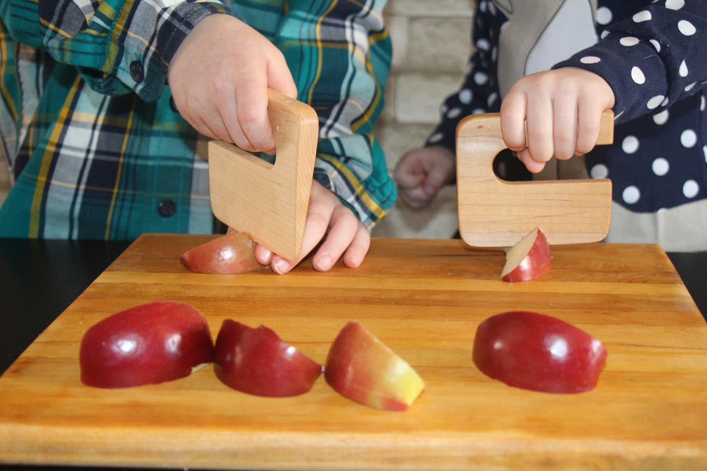 knives for children safe knife for children chop chop maple