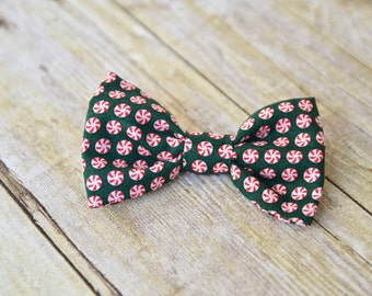 Green/peppermint bow tie