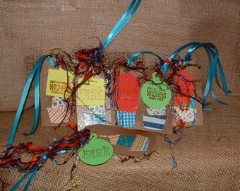 Happy Birthday gift Tags Set of 6