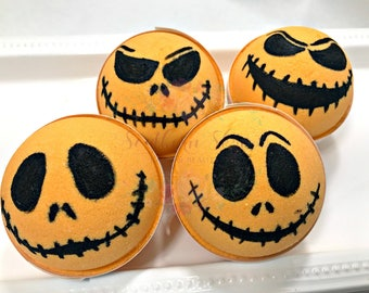 Halloween Bath Bomb | Holiday Bath Bomb | Jack-o-lantern | Gift Ideas | Gifts for Her | Holiday Gifts | Basic | Pumpkin Spice