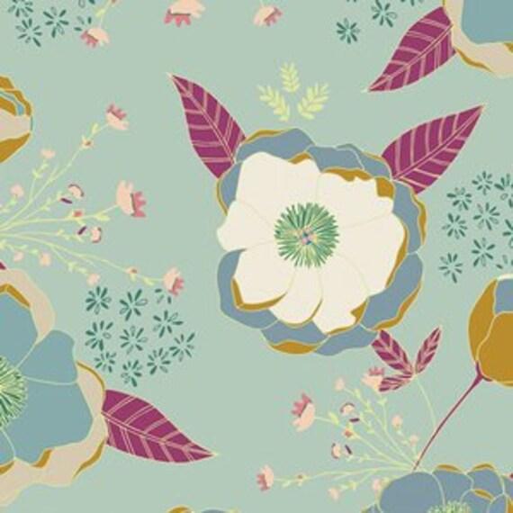 Boppy Cover >> Garden Dreamer Sprinkled Peonies in Orchid >> Boppy Newborn Lounger Nursing Pillow MADE-to-ORDER blue floral garden boppy