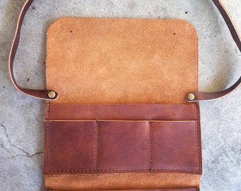 Long crossbody wallet strap, does not include the wallet itself