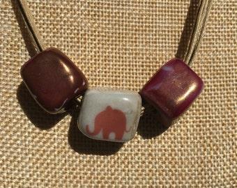 Alabama Necklace, Bama Necklace, Roll Tide Necklace, Alabama Jewelry, University of Alabama Necklace, Bama Jewelry, ***Free Shipping***