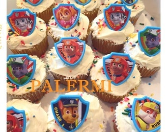 Paw Patrol Cupcake Toppers,